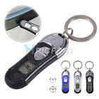 Car Auto Anti-static Elimination Discharger Releaser Keychain LCD Display