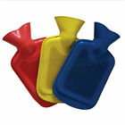 BRAND NEW SMALL HOT WATER BOTTLE - 0.5L - 4 DIFFERENT COLOURS - NATURAL RUBBER