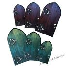 Set of 3 Magnetic Fairy Doors for Your Office & Kitchen Fairies ~ New