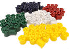 Pack of 50 / 100 Plastic Coloured Cotton Reels for Modelling / Arts & Crafts