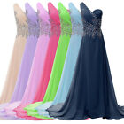 2014 Homecoming Women Long Evening Party Wedding Bridesmaid Prom Dress Ball Gown