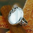STERLING SILVER STYLISH RING SOLID.925 /NEW JEWELERY  SIZE J - U