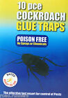 Cockroach Glue Traps Poisen Free Killer Insects Ant Bug Flee Beetle Pest Control