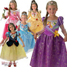 FANCY DRESS COSTUME ~ CHILD GIRLS DISNEY PRINCESS SHIMMER FROZEN AGES 3-8 YEARS
