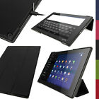 "PU Leather Smart Case for Sony Xperia Z2 10.1"" SGP511 Tablet Stand Flip Cover"