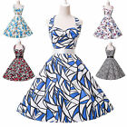 Hot Summer 50s 60s Vintage Rockabilly  Pinup Evening Prom Party Short Tea Dress