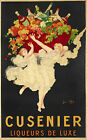 Cusenier Vintage French ad print poster, large 4 sizes available