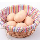 FD179 Artificial Nest Faux Egg Food Dummy Kitchen Party Wedding Home Decor ~1pc~