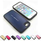 Shock proof Armor urethane bumper case cover Hard back PC For iPhone 4 4S / 5 5S