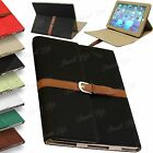 Luxury Leather Case Cover With Belt Strap Holder For Apple iPad 5/4/3/2 iPad Air