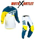 Fly F-16 Jersey & Pant Combo Dirt Bike Gear MX ATV Racing 2015 Riding Gear Green