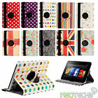 Leather Rotating 360 Stand Case Cover Wallet for Amazon Kindle Fire HD 2nd Gen