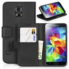 WALLET card holder stand flip Leather Case Cover Pouch hard back for Samsung