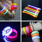 Hot LED Motion Activated Wristband Bracelet Pulsating Glowing Night Vision Light