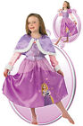 FANCY DRESS COSTUME ~ GIRLS DISNEY RAPUNZEL TANGLED WINTER WONDERLAND SIZES 3-8