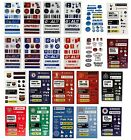OFFICIAL FOOTBALL CLUB - STICKER SHEET (Kids/Stickers/Reward/School)
