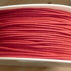 1mm wide round elastic stretch cord, various colours, per 2m - hat mask jewelery