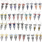 pennant earring dangle NFL Pick your team $7.49 USD on eBay