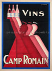 Vintage wine rare ad print poster, large 4 sizes available