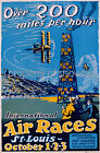 Vintage aviation Art ad print poster, large 4 sizes available