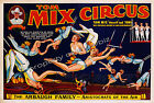Vintage Circus art ad print poster, large 4 sizes available