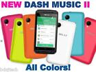New BLU Dash Music 2 - 4.0 4GB Unlocked Dual SIM Star Android KitKat 5.0 D330