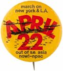 """MARCH ON NEW YORK & L.A. / APRIL 22 / OUT OF S.E. ASIA NOW! – NPAC"" ANTI-VIETNA"