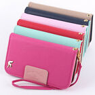 New Fashion Flip Leather Pouch Stand Card Hold Hard Protect Skin Book Case Cover