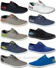 New Henleys Mens Lace Up Canvas Shoes pumps Sz UK 7-11 Plimsolls casual trainers