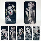Painted Sexy Marilyn Monroe Phone Case Cover For iPhone5/5S 4/4S Classic Style