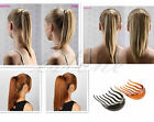 Vogue Hair Styler Volume Inserts Hair Clip Bouffant Ponytail Hair Comb Bumpits