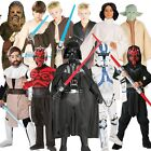 NEW OFFICIAL STAR WARS KIDS BOYS GIRLS FILM LICENSED FANCY DRESS COSTUME OUTFIT
