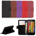 New Leather Wallet Pouch Flip Case Cover For MOTOROLA Moto G Classic 0o