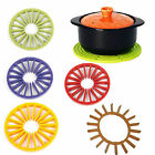 Silicone Trivet Kitchen Tool Versatile Hot Pot Holders Two Way