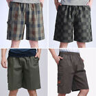 Middle-age/Young /Old Male  Shorts Loose Fifth Pants Beach Short Pants  WR0001