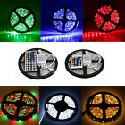 5M 10M 15M 5050 3528 300 RGB White SMD Light LED Strip 12V LED Strip + IR Remote