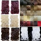 UK Fast Delivery Long Clip In On hair extensions accessories All Colors Length