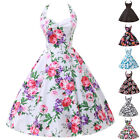 So Hot Cheap Rockabilly Floral Vintage Swing Pinup Cocktail Evening Party Dress