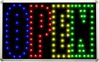 led002 OPEN Mixed Colors LED Neon Business Light Sign