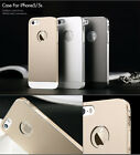 For Apple  iPhone 5/5S TOTU Knight II Aluminum Alloy Metal Case - Gold/Grey