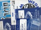 Sheffield Wednesday HOME programmes 1960s & 1970s FREE P&P UK Choose from list