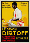 Vintage French Le Savon advertisement print poster, 4 sizes available