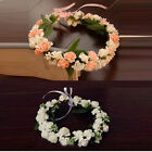 New Hairband Bride Flowers Branch Wedding Head Wreath Fairy Crown Floral Halo