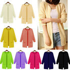 D Vogue Womens Knitted Cardigan Outerwear Casual Long Loose Sweater Coat Tops