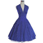 Vintage Dancing Party Dresses Prom Rockabilly Swing Jive Skirts 50s 60s Spot Dot