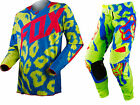 NEW 2015 FOX RACING 360 MARZ MX DIRT BIKE MOTOCROSS GEAR COMBO YELLOW ALL SIZES