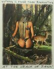 DIXIE NOTHING FINER THAN BOWHUNTING DEER @ CRACK OF DAWN HOT GIRL SHIRT #1954