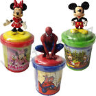 SPIDERMAN MINNIE MICKEY MOUSE MODELLING PLAY DOUGH CLAY  FUN ACTIVITY ART CRAFT