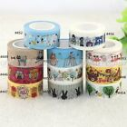 1X 2cm Width Cartoon Washi Tape Scrapbooking Stickers Decorative Sticky Tape New