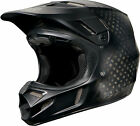 NEW 2015 FOX RACING V4 MATTE CARBON MX DIRTBIKE HELMET W/MIPS BLACK ALL SIZES